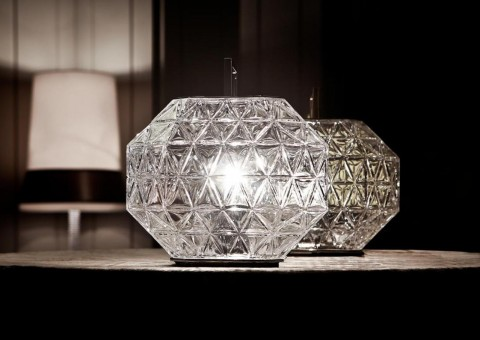 treasure crystal table lamp
