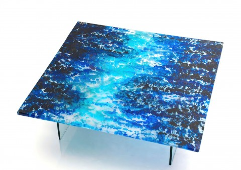 boiled glass series coffee table