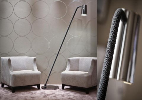 up swing arm floor lamp