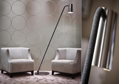 up swing arm floor lamp
