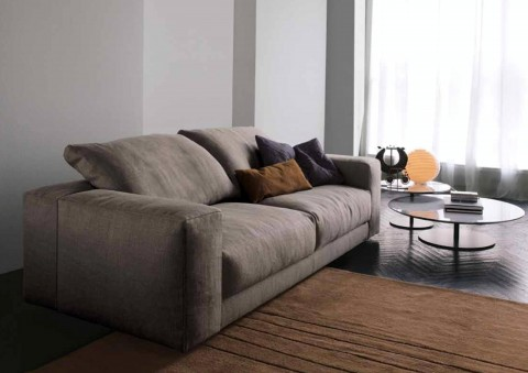 hills sofa with wood support structure