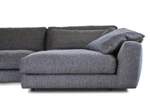 fashion wooden frame with elastic straps sofa