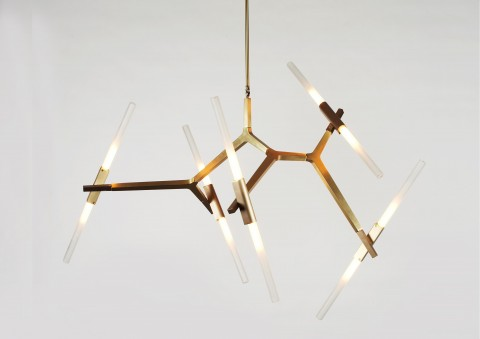 agnes chandelier by lindsey adelman