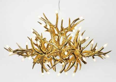antler contemporary chandelier series