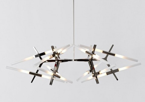 agnes astral chandelier series