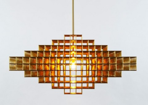 gridlock chandelier series