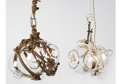 knotty bubbles luxury ceiling pendant