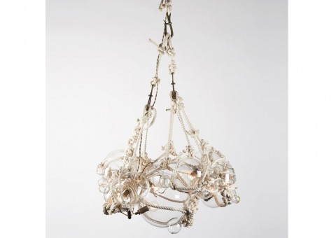 lindsey edelman knotty bubbles chandelier