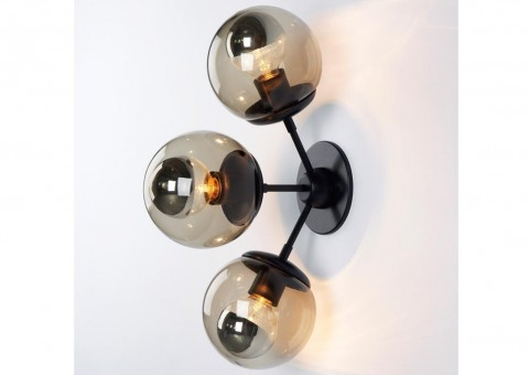 modo 3 globe sconce wall lights