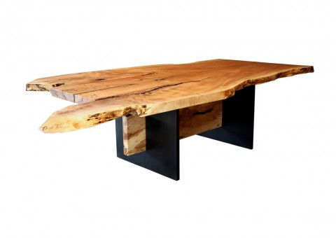 custom slabwood dining tables