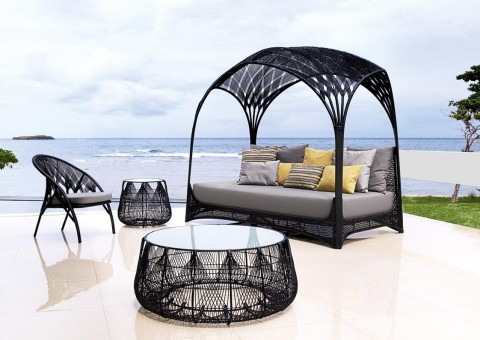 hagia daybed coffee tables by kenneth cobonpue