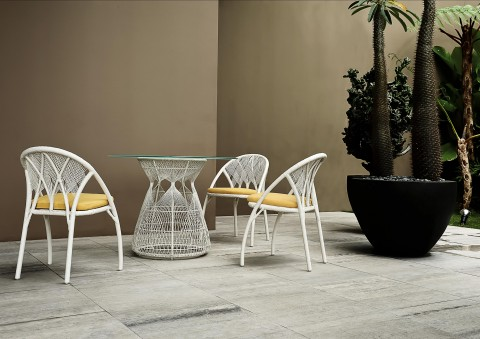 hagia dining furniture by kenneth cobonpue