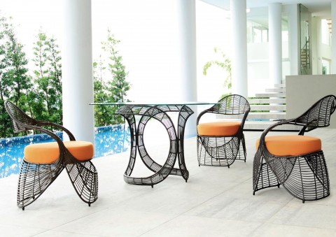 manolo designer dining furniture