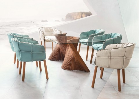 parchment designer dining chairs