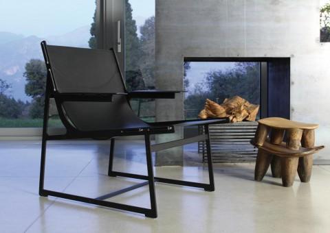 skin lounge chair