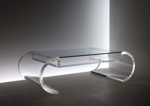 custom acrylic coffee tables