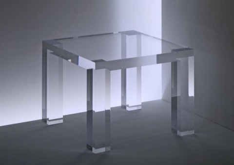 acrylic side tables