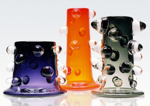 prunt glass vases by justin parker
