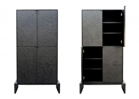 hand-hammered series cabinets