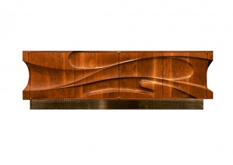 hand-carved series cabinets