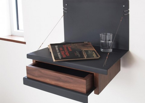 gil cantilevered wall shelf by Jacob Marks