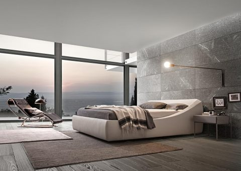 curvaceous brera platform bed