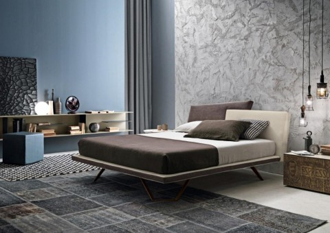 uniquely modern meeting platform bed