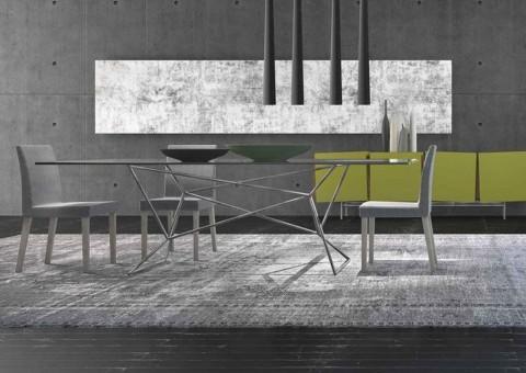 metropolitan style web dining table