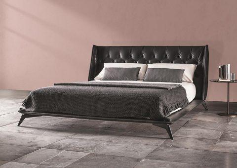 opera platform contemporary bed