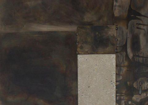prairie series mixed media artworks