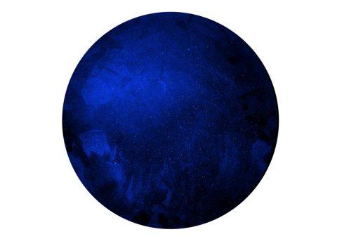 dark matter metallic dome painting series