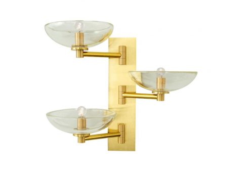 tazza vetro wall lights by zia priven