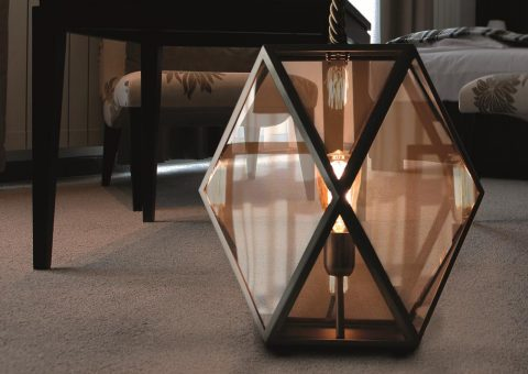 muse series indoor floor lantern