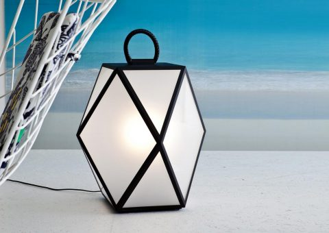 muse outdoor floor lantern