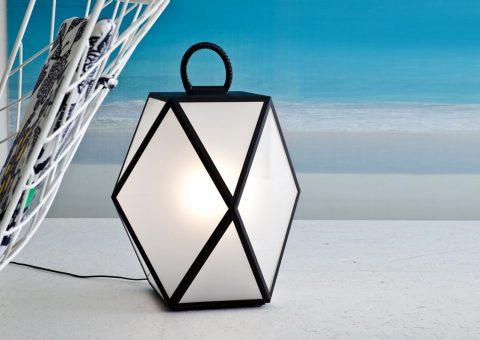 muse outdoor floor lantern
