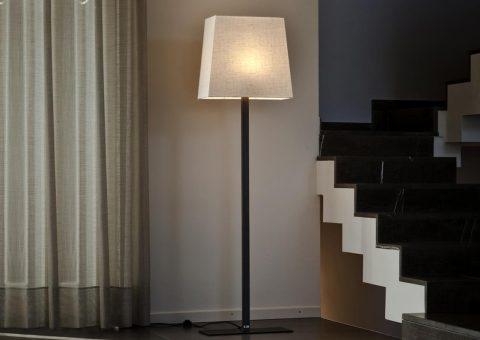 classic rettangola series floor lamp