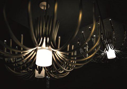 classic stardust chandelier series