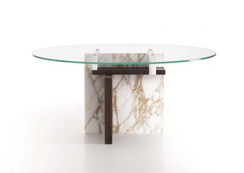 tangram series single base dining table