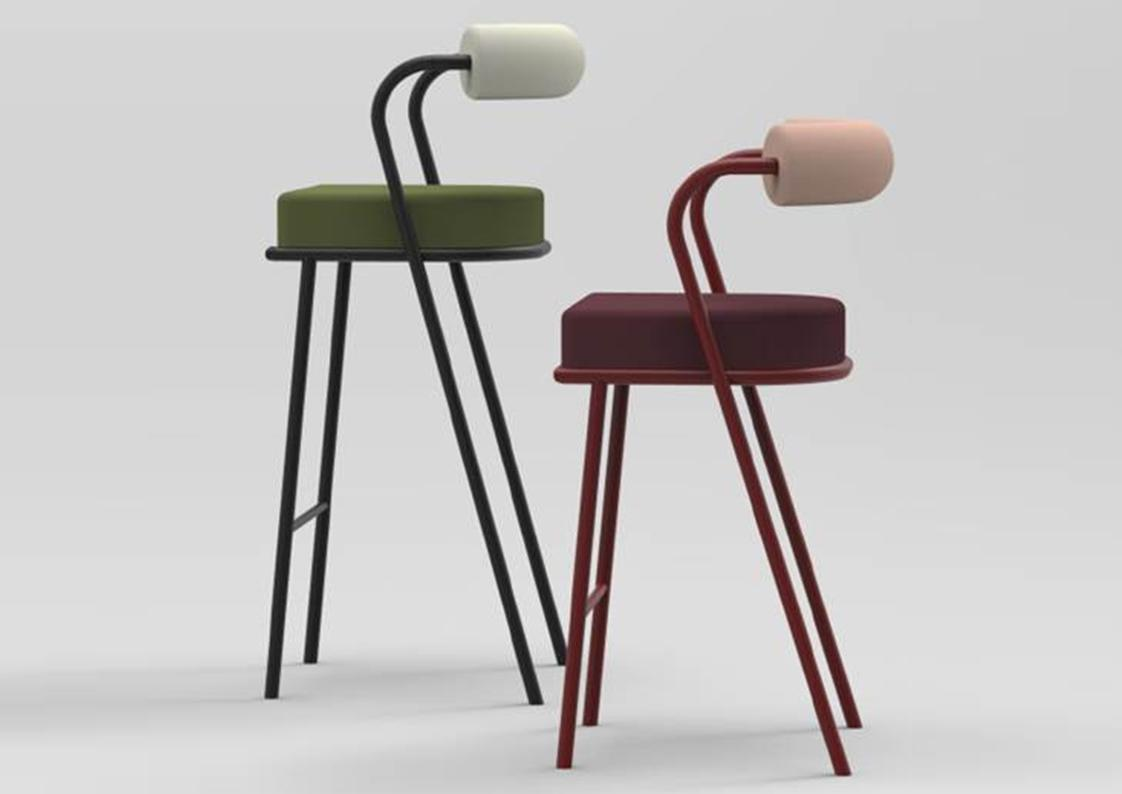 Stupendous Baba Barstool Contemporary Luxury Furniture Lighting And Creativecarmelina Interior Chair Design Creativecarmelinacom